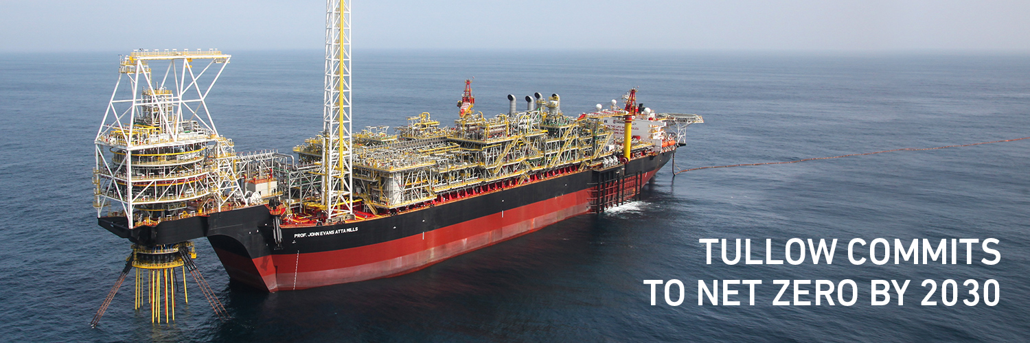 Tullow Oil plc Banner Image