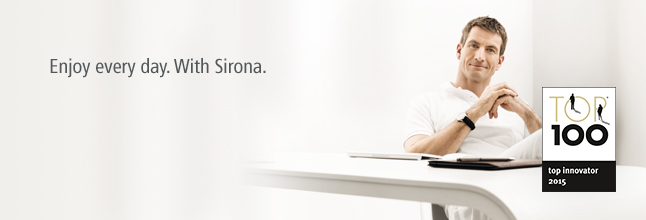 Sirona Dental Systems Inc. Banner Image