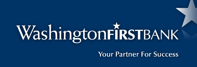 WashingtonFirst Bank Banner Image