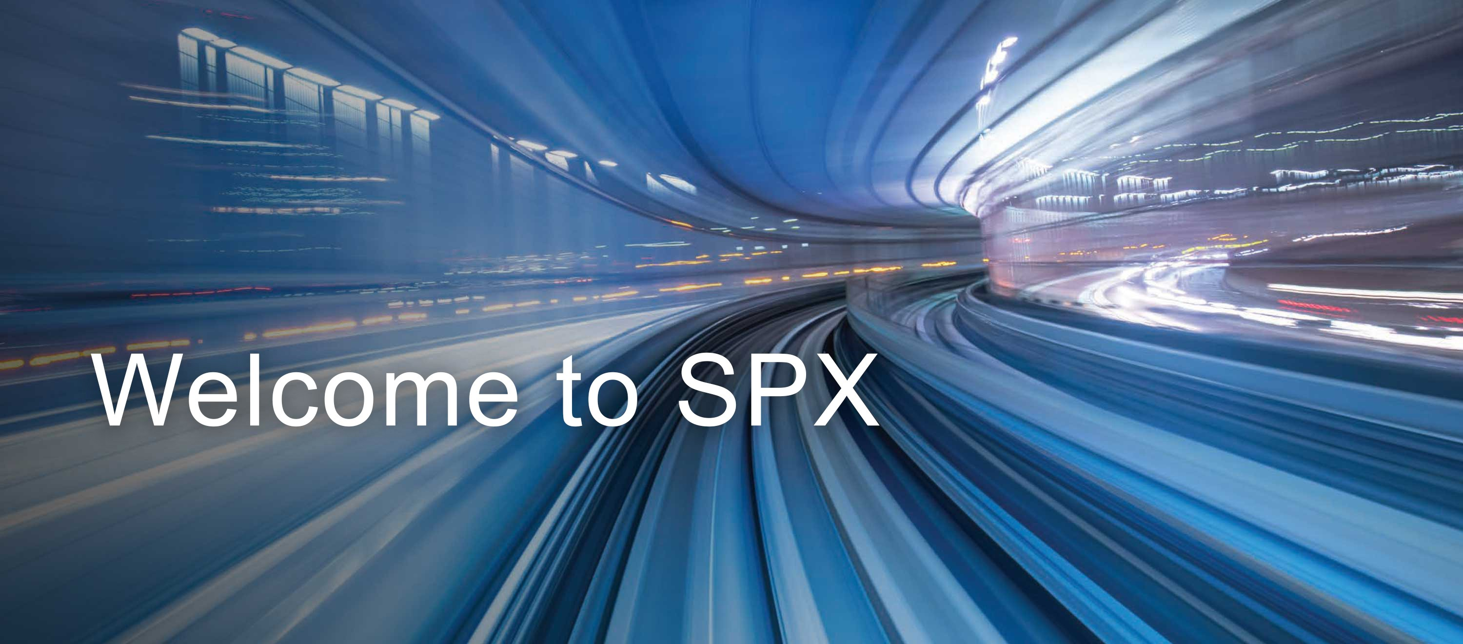 SPX Corporation Banner Image