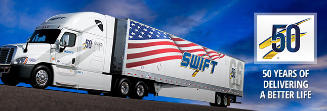 Swift Transportation Company Banner Image