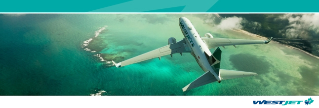 WestJet Airlines Ltd. Banner Image
