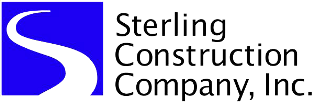 Sterling Construction Co. Inc. Logo Image