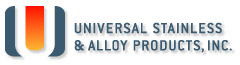 Universal Stainless & Alloy Products Inc. Logo Image