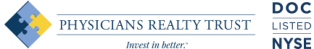 Physicians Realty Trust Logo Image