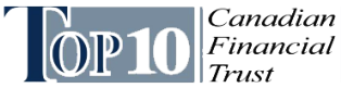Top 10 Canadian Financial Trust Logo Image
