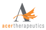 Acer Therapeutics Inc.