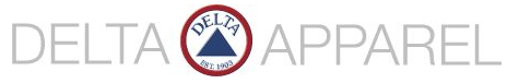 Delta Apparel Inc. Logo Image