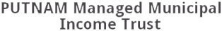 Putnam Managed Municipal Income Trust Logo Image