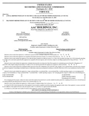 AAC Holdings Inc
