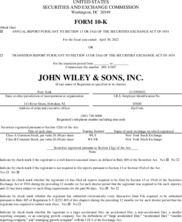 John Wiley & Sons Inc.
