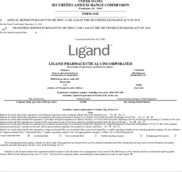 Ligand Pharmaceuticals Inc.