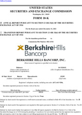Berkshire Hills Bancorp, Inc.