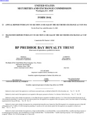 BP Prudhoe Bay Royalty Trust