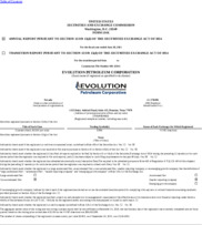 Evolution Petroleum Corp.