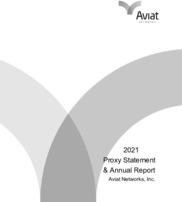 Aviat Networks, Inc.