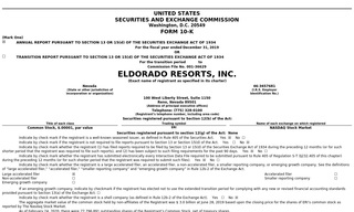 Eldorado Resorts, Inc.