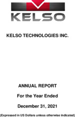 Kelso Technologies Inc.