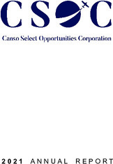 Canso Select Opportunities Corporation
