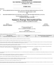 Sunnova Energy International Inc.