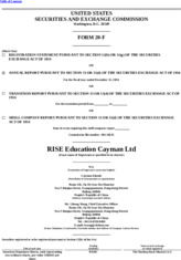 RISE Education Cayman Ltd