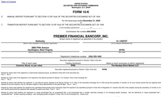 Premier Financial Bancorp Inc.