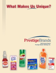 Prestige Brands Holdings Inc.