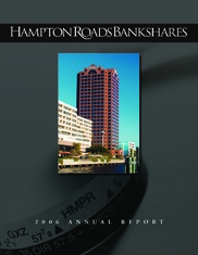 Hampton Roads Bankshares, Inc.