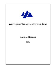 Westshore Terminals Income Fund