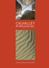 Calvalley Petroleum Inc.