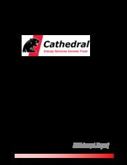 Cathedral Energy Services Ltd.