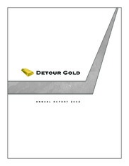 Detour Gold Corporation