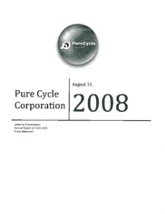 Pure Cycle Corp.