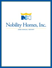 Nobility Homes Inc.