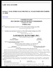 Louisiana Bancorp, Inc.
