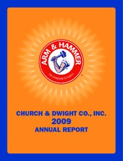 Church & Dwight Co. Inc.