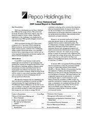 Pepco Holdings, Inc.