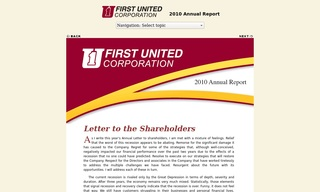 First United Corporation