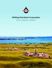 Whiting Petroleum Corporation