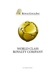 Royal Gold, Inc.