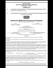 American National Insurance Co.