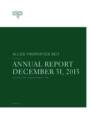 Allied Properties Real Estate Investment Trust