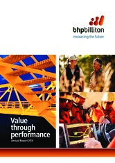 Reports and presentations   BHP