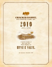 Cracker Barrel Old Country Store, Inc.