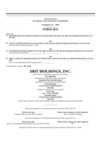 DHT Holdings, Inc.