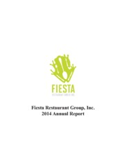 Fiesta Restaurant Group Inc