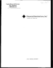 Financial Institutions, Inc.