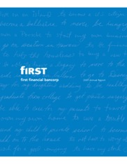 First Financial Bancorp.