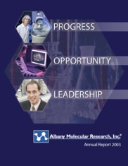 Albany Molecular Research Inc.
