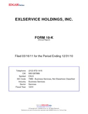 Exlservice Holdings, Inc.